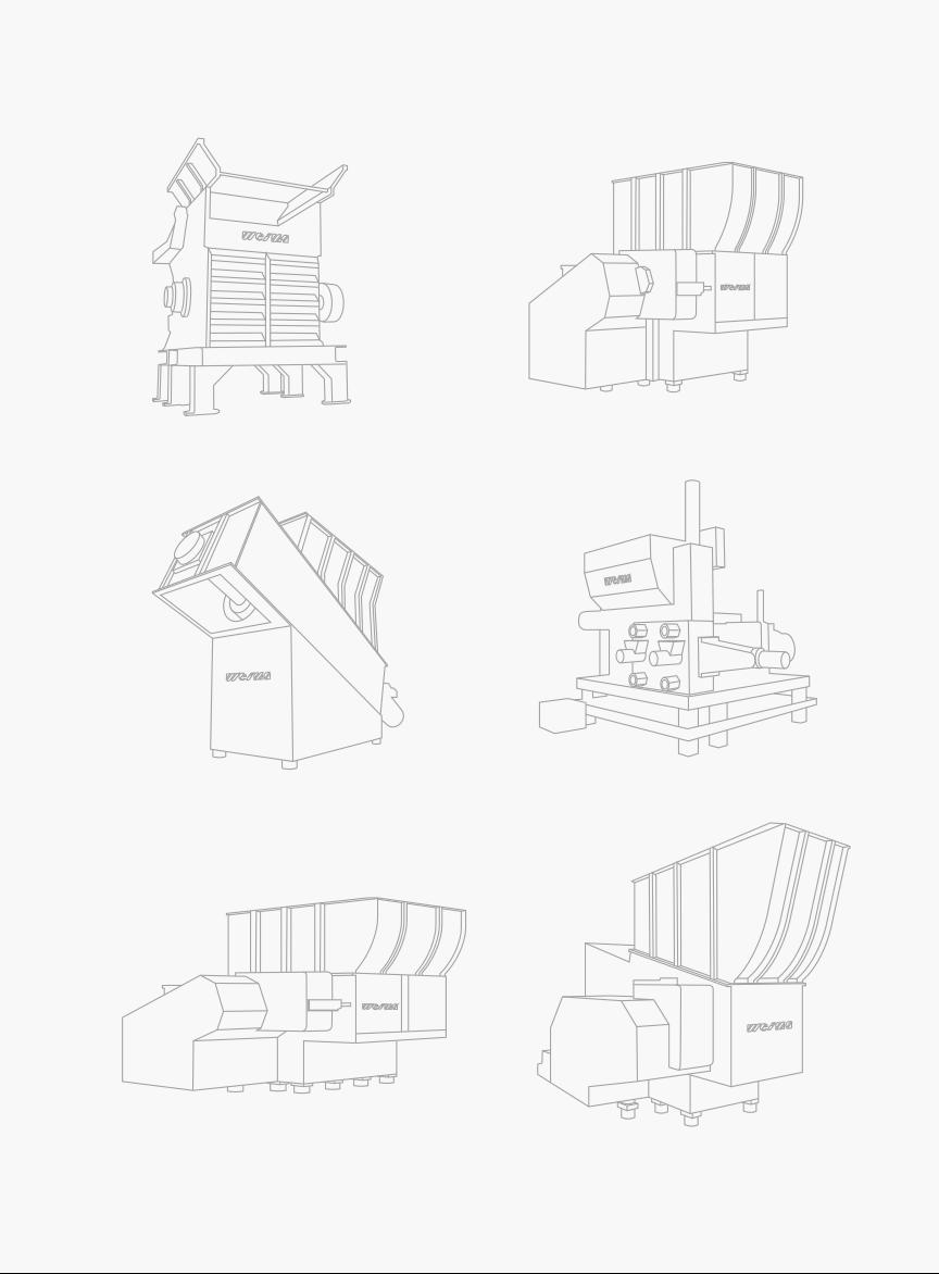 Weima Machine lijn tekeningen